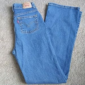 517 Levi's girl flare jeans